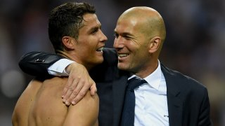 Кристиано Роналдо и Зинедин Зидан спечелиха три поредни трофея от Шампионската лига