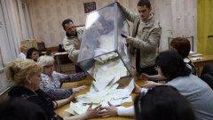 Ако гласуващите имаха шанса да гласуват за оставане в Украйна, сигурно би имало риск те да изберат и тази опция