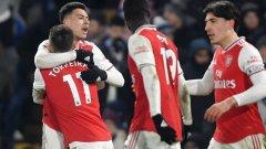 Ситуацията на Арсенал изглеждаше безнадеждна, но отборът успя на два пъти да изравни