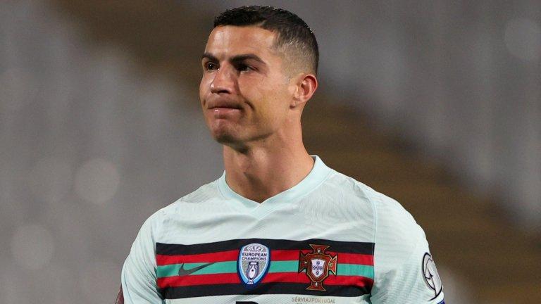 Не зачетоха гол на Роналдо, Сърбия спря Португалия (видео)