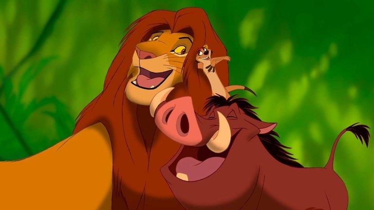 """""""Цар лъв""""  Не, не говорим за странната 3D адаптация, съветваме ви да се завърнете към автентично анимационния """"Цар лъв"""". А ако детето ви още не го е гледало - сега е моментът! Подгответе се за малко сълзи, много вълнение и един класически щастлив край. И това ви е гарантирано, въпреки че не гледате анимацията за първи път."""