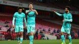 Новият герой отпуши Ливърпул за класика над Арсенал