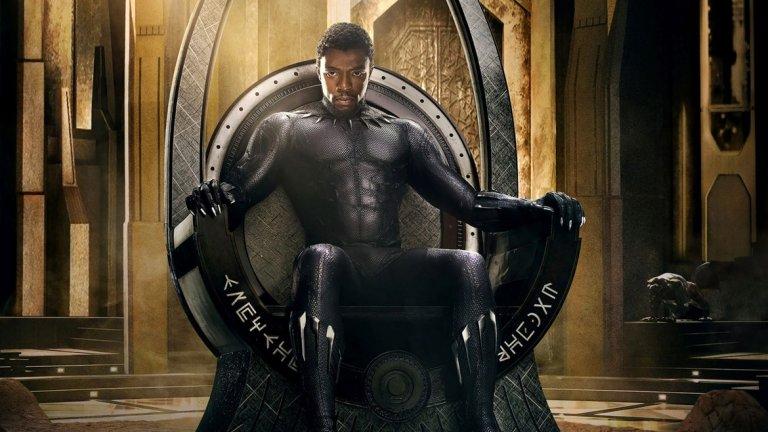 """1. Black Panther / Черната пантера (16 февруари)  Принц Т'Чала (Чадуик Босман), по-познат като Черната пантера, беше представен много добре в Captain America: Civil War. Сега е време и за неговото първо соло-приключение, в което той трябва да брани измислената високотехнологична държава Уаканда. Във филма ще видим и Майкъл Б. Джордан, Форест Уитакър и Анди Съркис (Ам-Гъл от """"Властелинът на пръстените""""). Струва си да се отбележи, че това ще е първият филм на Marvel, в който главният герой (както и по-голямата част от актьорския състав) е чернокож."""
