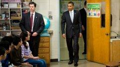 Състезанието Race to the Top, обявено от администрацията на Обама ще разпредели $4.35 млрд. под формата на стимули за образованието в различните щати