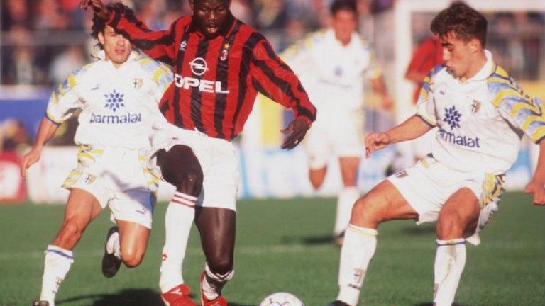 10. Джордж Уеа (1995-2000, 58 гола в 147 мача)