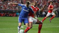 Капитанът на Бенфика Луизао смята, че загубата от Челси с 0:1 преди седмица в Лисабон не е отразила справедливо играта на двата отбора