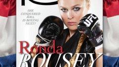Ронда Раузи стана първата ММА-звезда и втората жена изобщо на корицата на американското списание за бокс и борба The Ring
