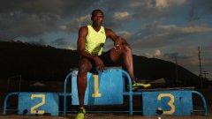 Най-бързият човек направи последния си спринт