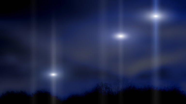 Мистериозни светлини, забелязани от хиляди хора, бяло петно в Google Maps и цензура - какво се случва?