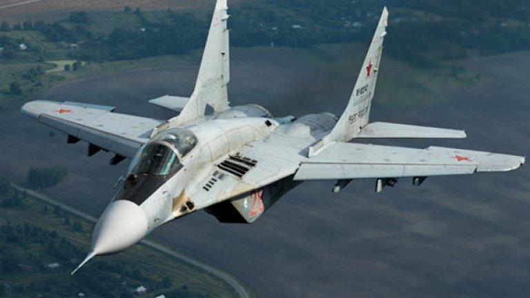 Техническа повреда или грешка на пилота на МиГ-29?