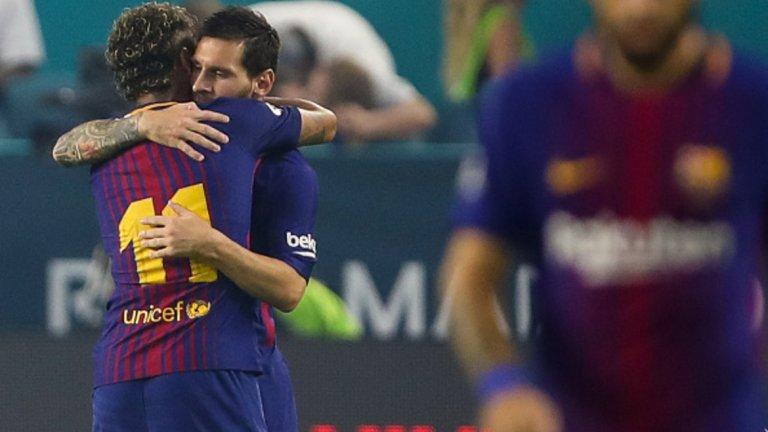 Меси не крие желанието си отново да играе с Неймар в Барселона.