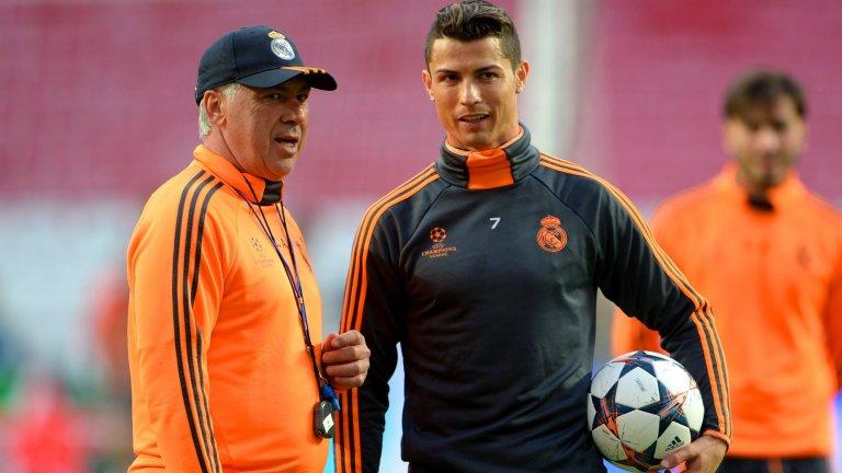 През 2013-а Анчелоти пристигна в Реал за заместник на Жозе Моуриньо.
