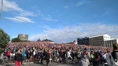 Десетки хиляди посрещнаха героите от исландския национален отбор при прибирането им
