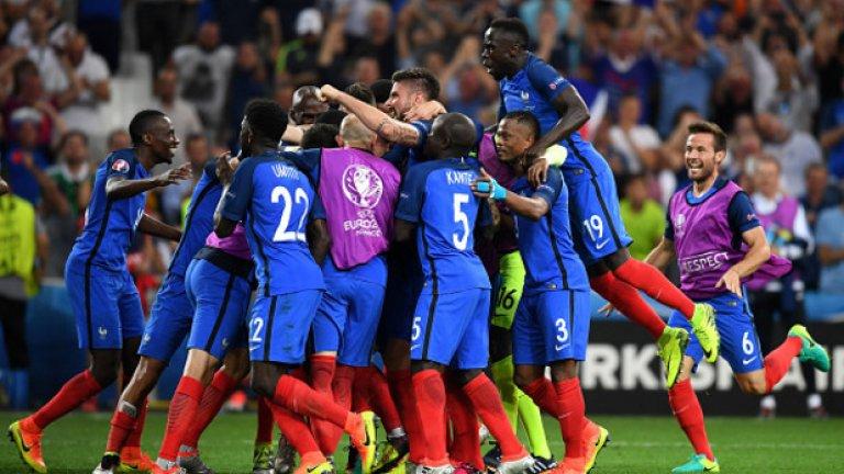 Франция е на финал!