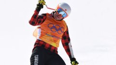 Дейв Дънкан не впечатли с резултатите си в ски кроса, но спечели вниманието на медиите