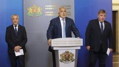 """Извънредната епидемична обстановка ще бъде удължена с още един месец, """"за да може мерките да работят"""", обяви още Борисов"""