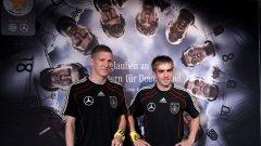 Двамата капитани на Бундестима - Филип Лам и Бастиан Шнайвщайгер са оптимисти преди старта на световното първенство