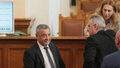 """""""За"""" кандидатурата на Симеонов са гласували 118 депутати"""
