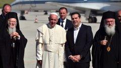 Всички сме мигранти, каза папа Франциск