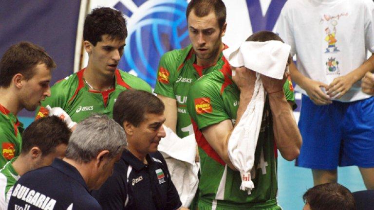 Волейболистите ни записаха втора загуба на Мондиал 2010 в Италия