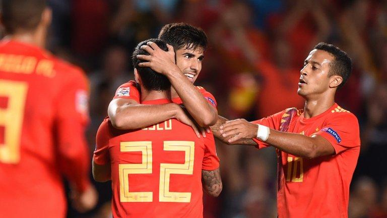 Испания нанесе най-голямата загуба в историята на хърватския национален отбор