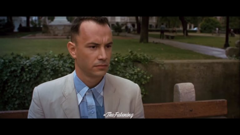 И добра роля ли щеше да направи Киану Рийвс като Форест Гъмп?
