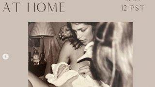 Синди Крауфорд за удобството да родиш у дома