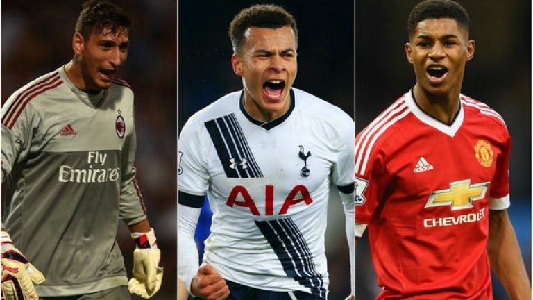 Донарума, Рашфорд и Деле Али са сред фаворитите за наградата Golden Boy 2016