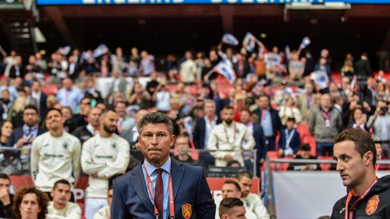 Балъков беше доволен от футболистите на България, въпреки изразителната загуба