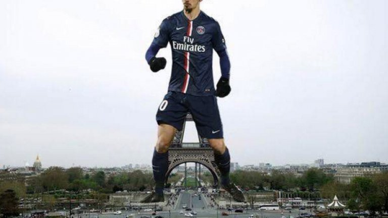 Златан иска 600 000 лири на седмица, за да продължи кариерата си в Англия, а за да остане в Париж си пожела статуя като Айфеловата кула. Галерията ще ни покаже дали не се е надценил