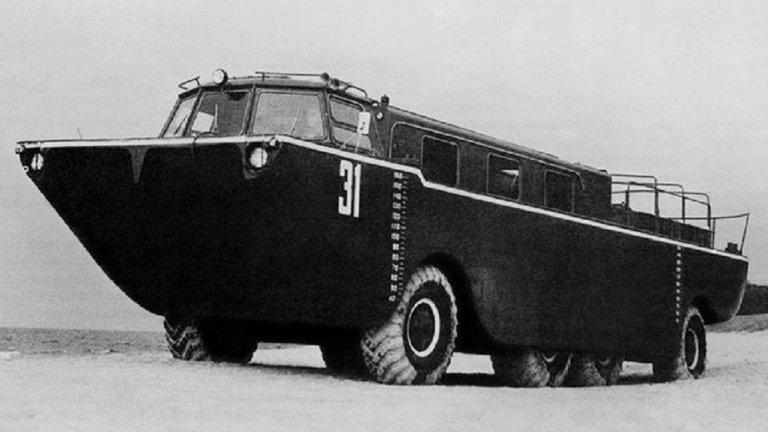 ЗИЛ-135П е поредната идея са всъдеход, изоставена безславно в миналото