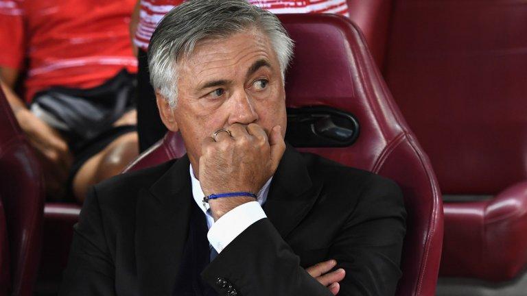 """Анчелоти ще се завърне в Серия """"А"""" със задачата да свали Ювентус от трона"""