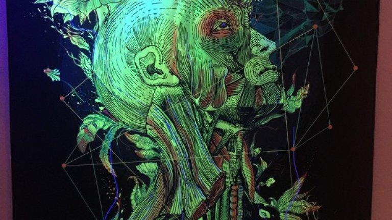 Тази картина се намира в един скрит ъгъл на галерията - намерете я