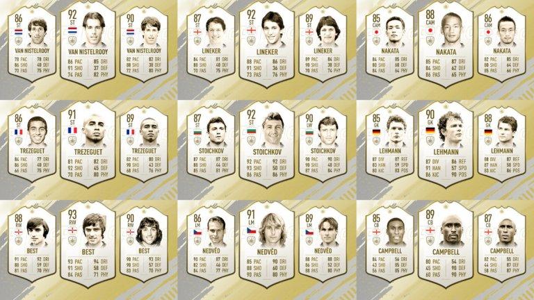 Вижте всички нови 24 легенди за новата ФИФА 19...