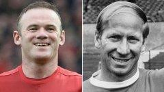 Скоро само тези двама футболисти ще имат общо над 500 гола за Манчестър Юнайтед. Вижте в галерията.