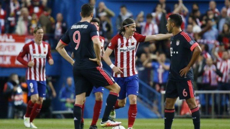 Атлетико спечели първия полуфинал в Шампионската лига срещу Байерн с 1:0 с гол на Саул