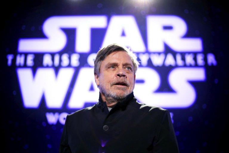 """Хамил на премиерата на """"Междузвездни войни: Възходът на Скайуокър"""""""