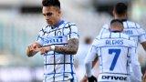 Интер дръпна с 9 точки на върха след трудна победа над Торино