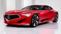 Концептът на Acura - Precision е една от големите звезди на шоуто в Детройт