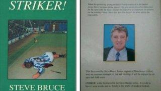 Стив Брус не се гордее с криминалните си романи, но те вече имат култов статут във футболния свят