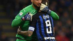 """Градското дерби между Милан и Интер е много важно и за двата тима в борбата за топ 4. Джанлуиджи Донарума ще пази вратата на символичните домакини днес, докато Мауро Икарди засега остава извън сметките за """"нерадзурите"""""""