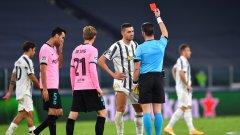 Мерих Демирал бе изгонен след два жълти картона пет минути преди края на редовното време, заради което ще бъде наказан за гостуването на Ференцварош следващата седмица