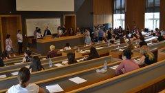 1423 студенти се явиха на изпита по Български език и литература в СУ