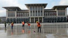 """Ердоган подчертава, че резиденцията не е """"негов палат"""", а е на целия турски народ"""