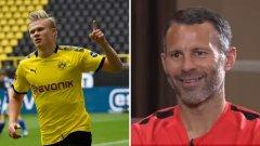 Гигс се спря на двама от Дортмунд и на един от любимия Юнайтед.