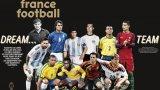"""""""Франс Футбол"""" избра идеалните 11 за цялата футболна история"""