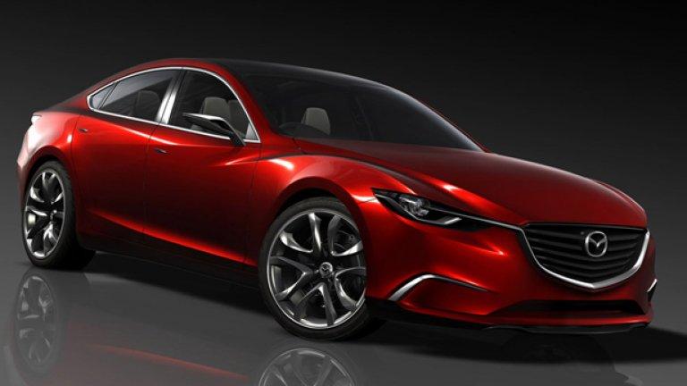В дизайна на Takeri има доста решения, напомнящи за стилистиката на Jaguar