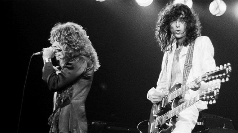 """Led Zeppelin – Led Zeppelin (1969)  За да е велик един дебютен албум, не е задължително в него изпълнителят да е оформил и развил напълно стила си - особено когато става въпрос за легендарна банда като Led Zeppelin, минала през различни периоди и влияния. Първото издание на Zeppelin е с доста блус настроение и вокалът Робърт Плант признава, че в него музикантите още са """"проучвали"""" самите себе си, както и публиката. Макар че най-големите хитове на Zeppelin са в  следващите албуми, този си остава специален за феновете с песни като Dazed and Confused, Good Times Bad Times, Communication Breakdown, Babe I'm Gonna Leave You."""