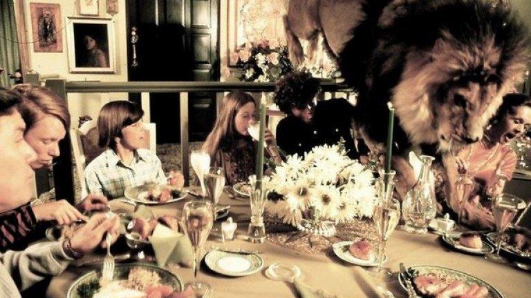 """Заснемането на Roar струва 17 млн. долара. Приходите от него някога са само 2 млн. долара, затова и не е странно, че е наречен """"най-скъпото домашно видео, правено някога"""""""