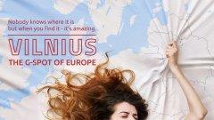 Спорната и дори скандална рекламна кампания за столицата на Литва Вилнюс очевидно работи.